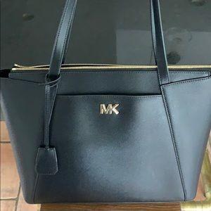 NWT Michael Kors Black Leather Tote